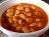 Vegetarian Baked Beans at Batterfish Chip Shop