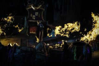 Image of Sindbad Show with Black & White Effects applied