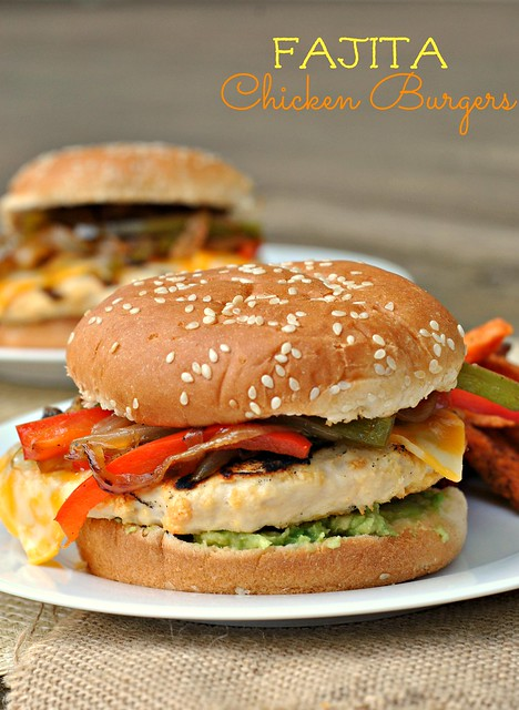 Fajita Chicken Burger 1