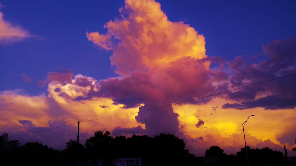 Atomic Bomb Natural Cloud Formation