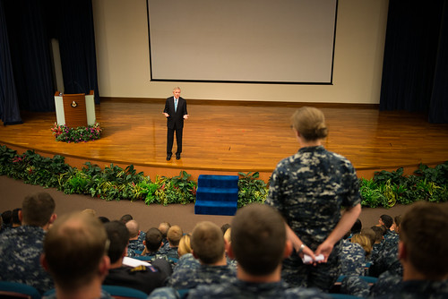 Secretary of the Navy Visits Singapore during CARAT 2014
