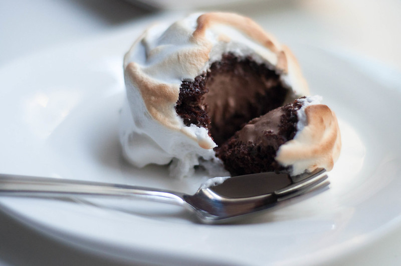 baked chocolate alaska