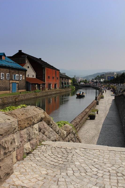 北海道旅行 小樽運河とルタオ