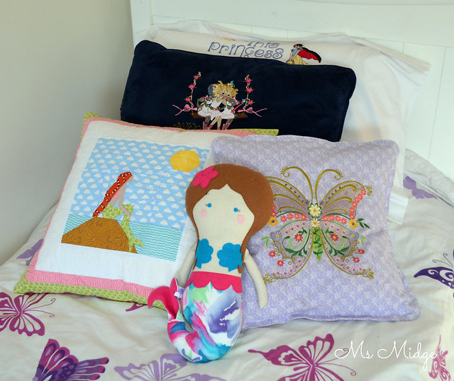 Mermaid Cushion Cover