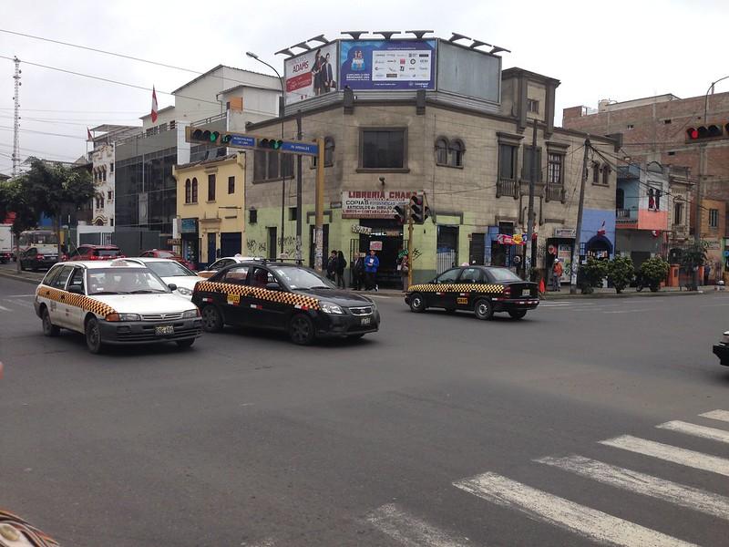 taxis en Lima