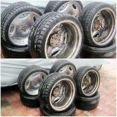 #For#Sale#Used#Parts#Wheels#Rims#19#alyehliparts#alyehli#UAE#AbuDhabi#AlFalah#City  For Sale Replica Lorinser LM-1 19' Wheels/Rims  Front Size : 19x8.5 JJ Rear  Size : 19x9.5 JJ  Front Tyers Size : 235/35/19 Rear  Tyers Size : 265/30/19  Was on my R129 S
