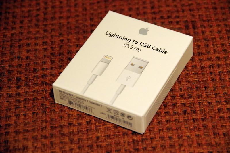 Lightning - USBケーブル(0.5 m)_003