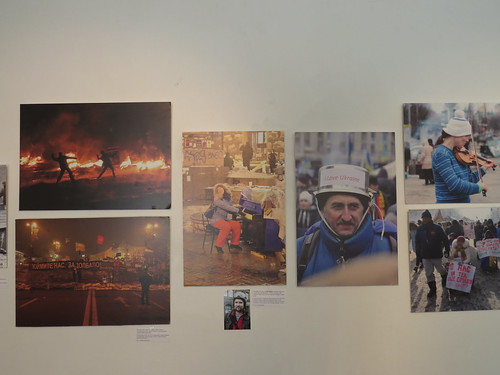 Kateryna Pavlyk: Photos from Maidan Square