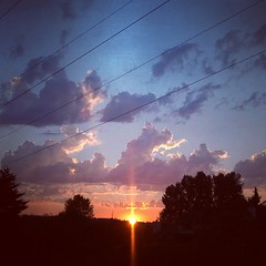Another Powerline sunset