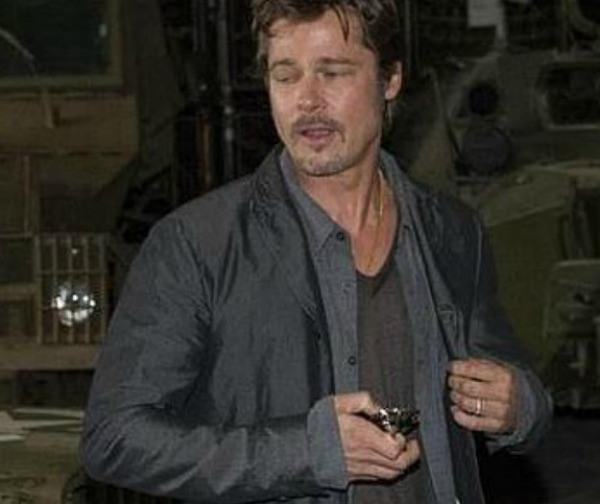 el anillo de casamiento de Brad Pitt