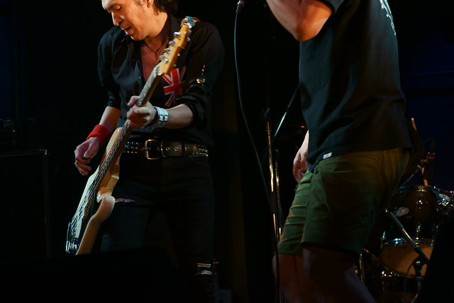 The Wells live at Rock Joint GB, Tokyo, 17 Aug 2014. 055