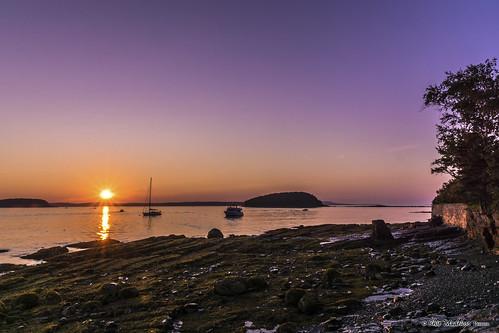 me sunrise maine barharbor mountdesertisland downeast frenchmanbay sonyalphadslr sonyphotographing wabanakiindians