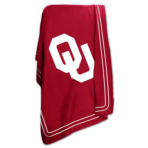 Oklahoma Sooners NCAA Classic Fleece Throw