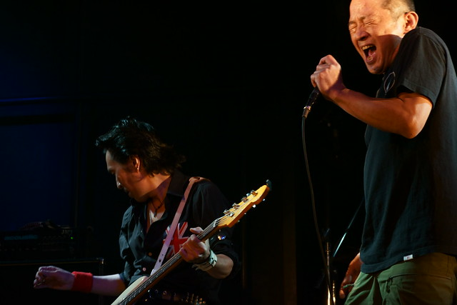 The Wells live at Rock Joint GB, Tokyo, 17 Aug 2014. 056