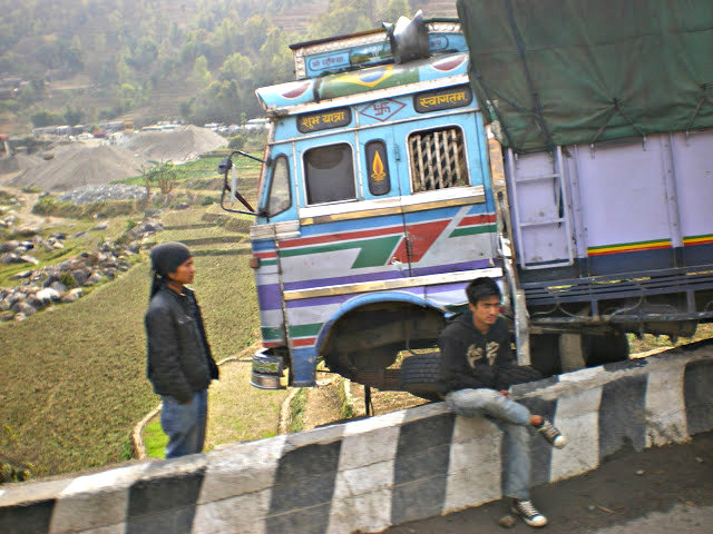 traveling to Pokhara