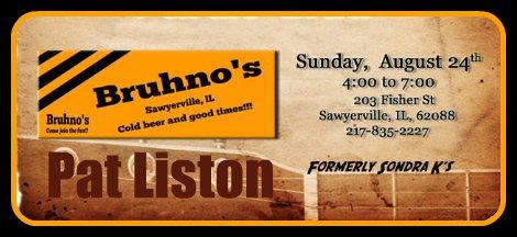 Pat Liston 8-24-14