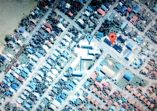Aerial map: Bandong