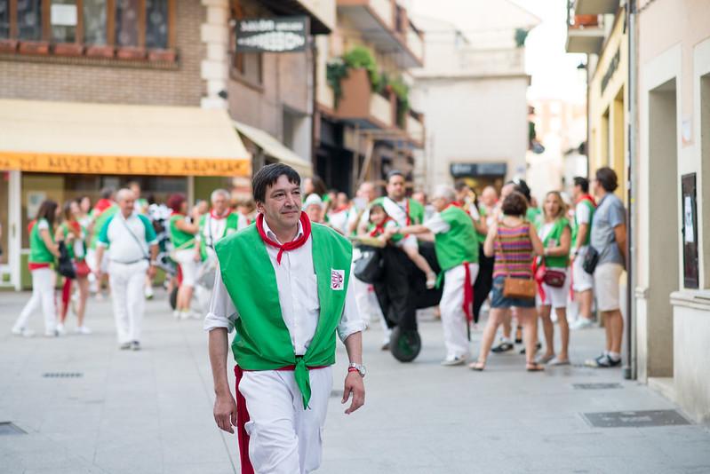 Fiestas de las peñas, Aranda de Duero