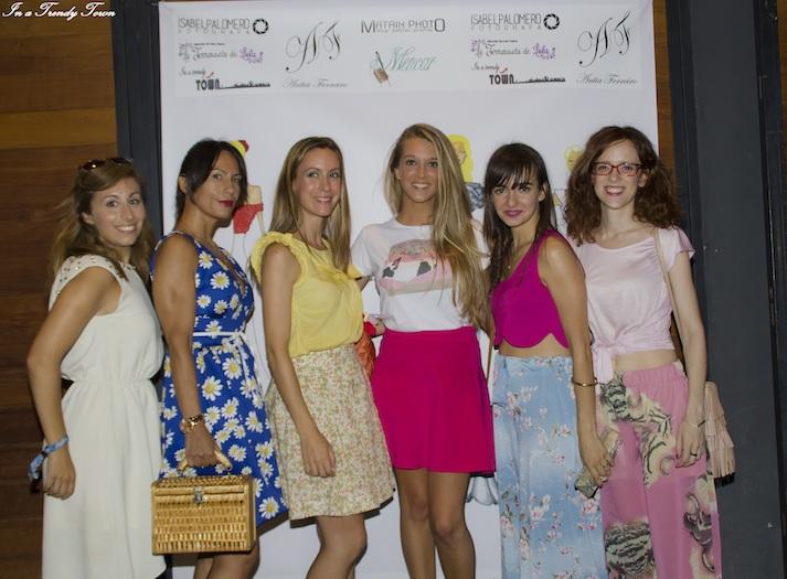 desfile moda Antía Ferreiro in a trendy town
