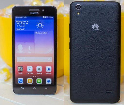Huawei G620S и Y550