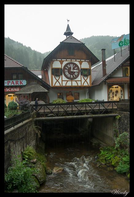 Reloj de cuco Schonachbach