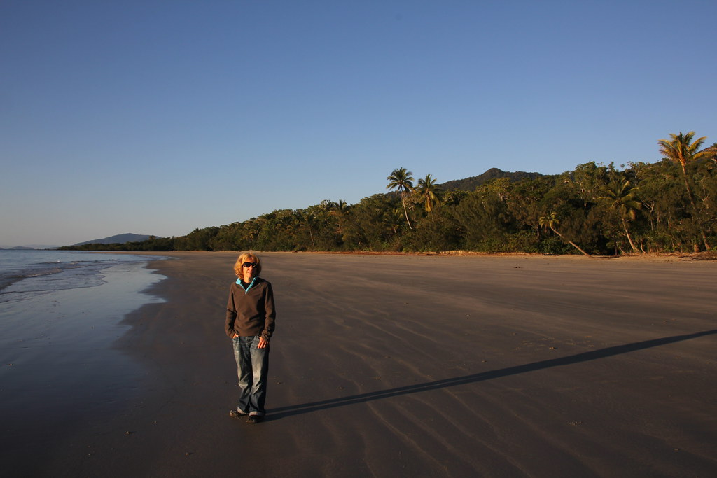cape tribulation, myall beach, masons creek, ocean safari, daintree rainforest, mount sorrow