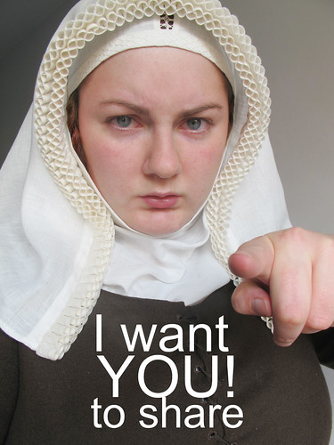 Cathrin wants you to share