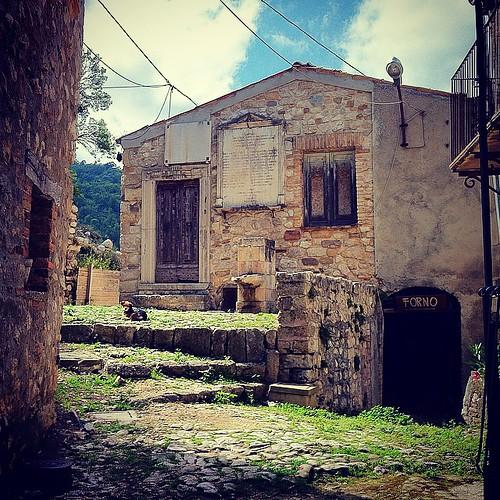 #gost_town of #corvara #pescara #abruzzo