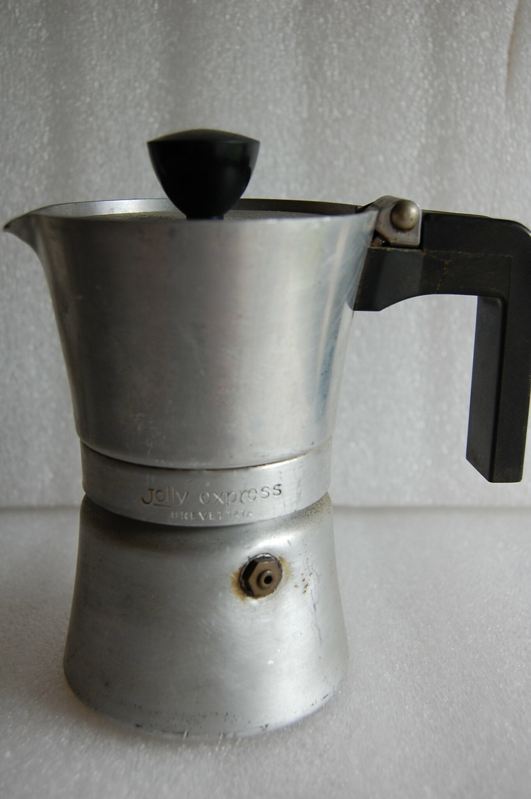 CAFFETTIERA JOLLY EXPRESS VINTAGE ANNI 60 COFFEE MACHINE , MADE IN ITALY 1960 s