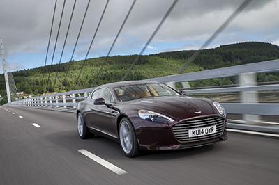 The Ritz-Carlton San Francisco revs up Aston Martin models
