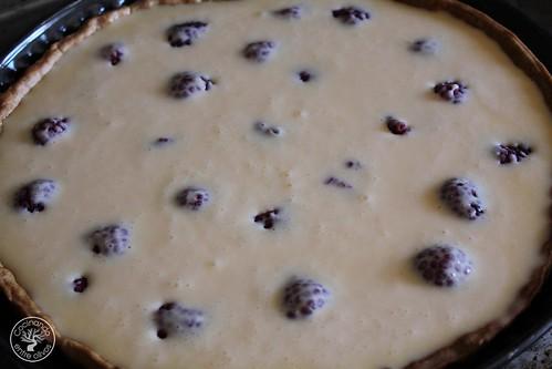 Tarta de queso y frambuesas www.cocinandoentreolivos.com (13)