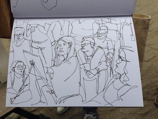 Béliza Mendes's sketch of me!