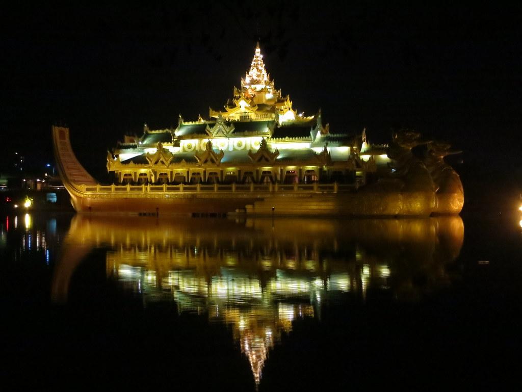 Bangkok ja Yangon 2 035