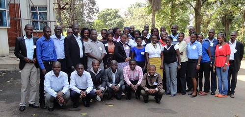 Participants of enumerators for the household nutrition survey training