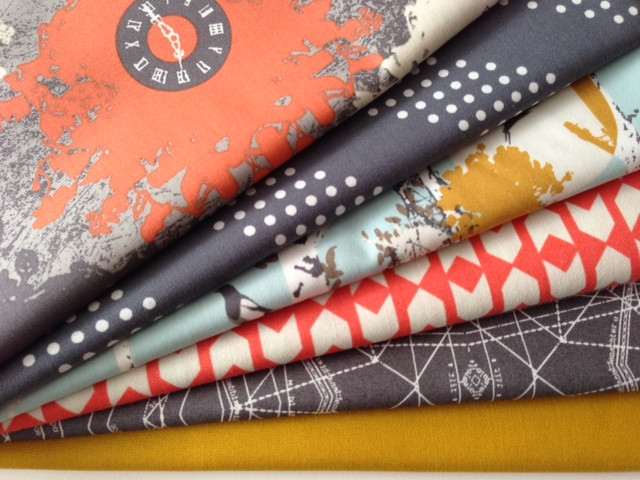 GIVEAWAY!! Indelible & Cotton & Steel 1/2 Yard bundle