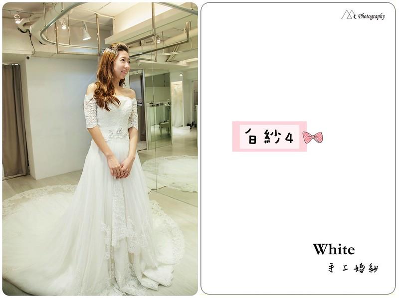 WHITE  白紗4-1