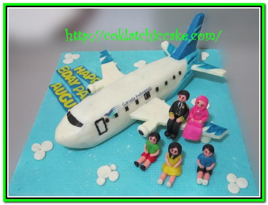 Cake Pesawat Garuda
