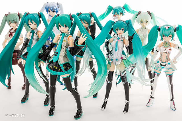 The 7th anniversary of Hatsune Miku