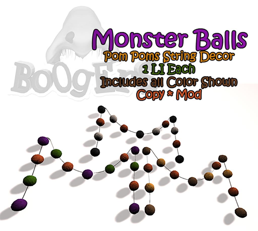 Monster Balls for FLF 9/18/14