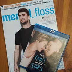 I'm feeling very fangirly right now. #mentalfloss #tfios #danielradcliffe #wherearemytissues