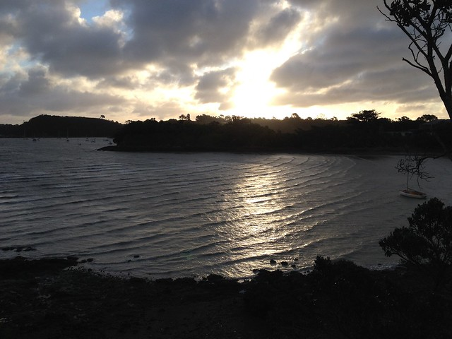 Sunset, water | Waiheke Island