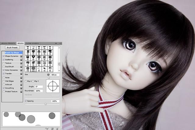 PS-tutorial fake-bokeh on white 03 brush ready