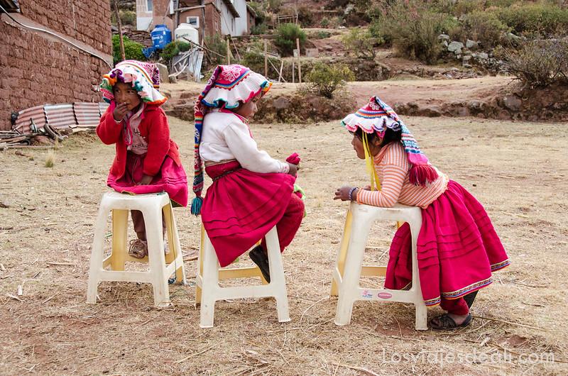 Princesitas de la Península de Capachica