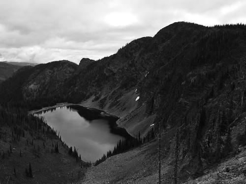 Glacier Lake in the Rattlesnake Wilderness