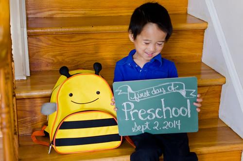 Elliot's First Day of Preschool