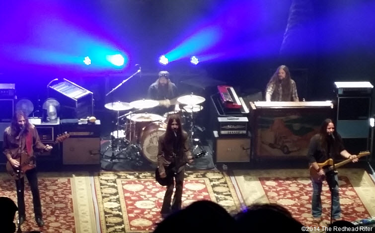 Blackberry Smoke Southern Rock Concert, Richmond, Virginia 20140115_213614