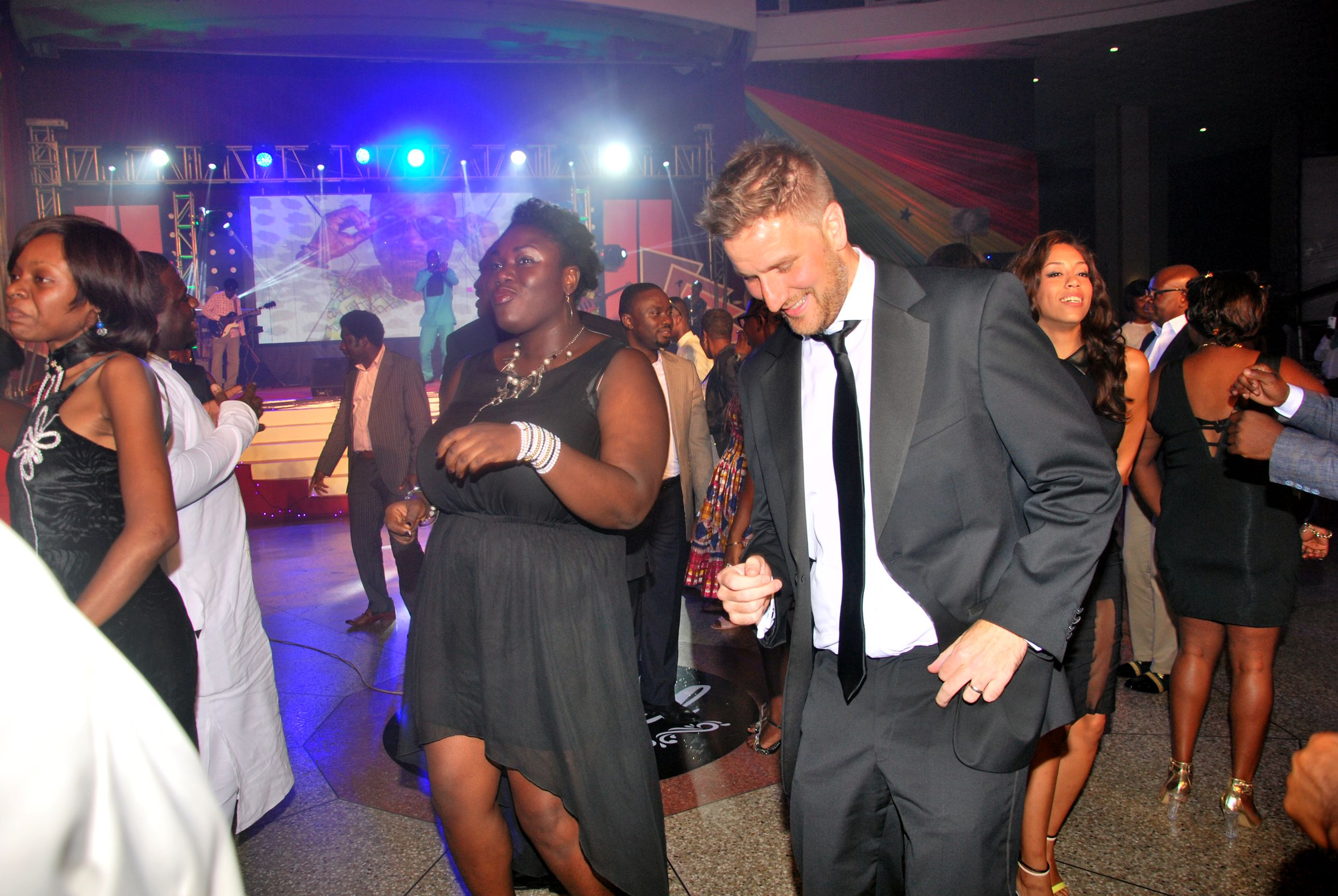 GGBL MD on Dance floor