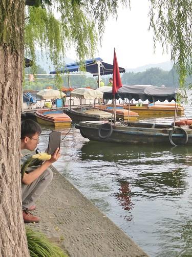 Zhejiang-Hangzhou-Lac-Coucher de soleil (36)