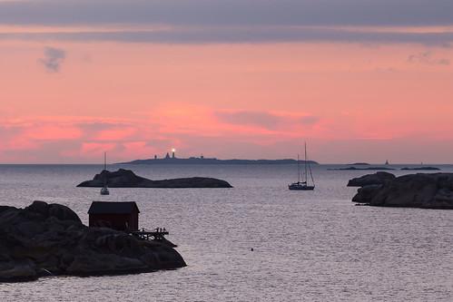 ocean light sea lighthouse clouds göteborg boats islands twilight sailing sweden dusk gothenburg sverige archipelago skärgård styrsö vinga canonef70200mmf4lisusm västragötalandcounty canoneos6d