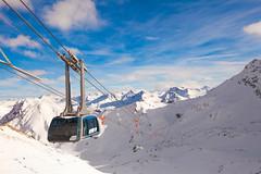 Spojení lyžařské oblasti Arosa a Lenzerheide